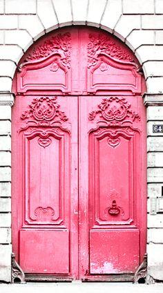 ~ arch entry~pink door ~