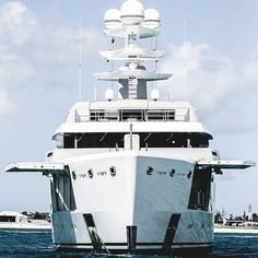 """""""The owner asked me to design an exterior that looked unique aggressive but not in a mean way and different from everything he had seen before said @espen.oeino naval architect for @luerssenyachts Ester III. As a result although she is one of the smaller Lürssens launched in recent years at 65.99 metres she is jam-packed with originality in looks layout and technology. #superyacht #yachtdesign #megayacht #luerssenyachts #boatinternational photo by @guillaume_plisson"""