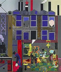 One of my favorites - Romare Bearden's Pittsburgh Memories (1984)