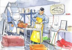 Urban Sketchers: Pearls of the Atlantic...the Clarinbridge Oyster Festival, Co. Galway
