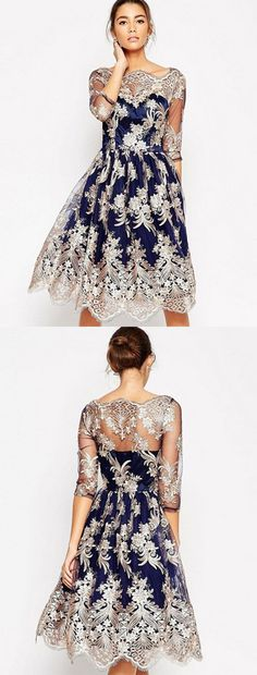 Women's Going out Vintage A Line Dress Wedding Dress Sleeves, Lace Dress, Dress Up, Mob Dresses, Dresses Online, Party Fashion, Fashion Outfits, Grace And Lace, Beautiful Gowns