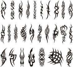 Full Tribal Artwork Collection – Tattoo Vector – Just another WordPress site Flame Tattoos, Body Art Tattoos, Small Tattoos, Wing Tattoos, Arte Tribal, Tribal Art, Tribal Tattoos For Men, Tattoos For Guys, Tribal Sleeve Tattoos