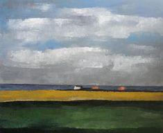 Niels Schouten    'Picardi'  acryl op linnen,  100 x 120 cm