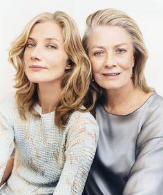 Joely Richardson and mom, Vanessa Redgrave