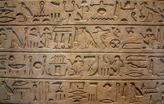 Ancient Egyptian Hieroglyphics | Ancient Egyptian Decorative Arts | DesignerGirlee