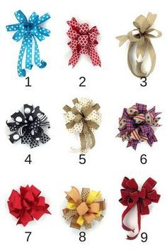 9 Ways To Make A Bow For A Wreath
