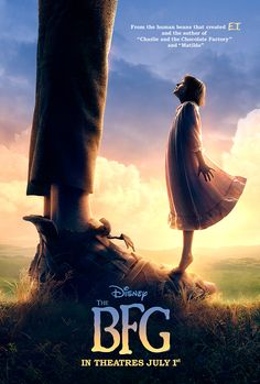 The BFG, Roald Dahl's book comes to theaters July 1st
