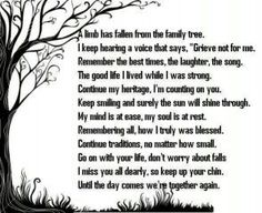 Remember me poem