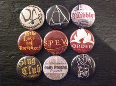 My SPEW button and Slug Club buttons!