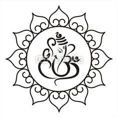 Vector: Ganesha, Hindu wedding card, royal Rajasthan, India – The Best Ideas Arte Ganesha, Ganesha Rangoli, Ganesh Tattoo, Aum Tattoo, Lotus Tattoo, Tattoo Ink, Hand Tattoos, Sleeve Tattoos, Tatoos