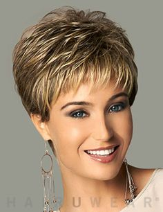 New coming 2016 highlights blonde short female haircut, puffy straight pelucas pelo natural short hair wigs for black women Natural Straight Hair, Short Thin Hair, Short Hair Wigs, Short Hair Styles, Short Pixie, Red Pixie, Straight Bangs, Short Hair Cuts For Women Thin, Short Hair Over 60
