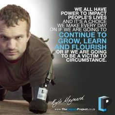 Kyle Maynard is a motivational speaker, author, entrepreneur and athlete. Despite being born with arms that end at the elbows and legs near the knees, Kyle's wrestled for one of the best teams in the Southeast, set records in weightlifting, fought in mixed martial arts, and most recently became the first man to crawl on his own to the summit of Mt. Kilimanjaro, the highest mountain in Africa, which awarded him his 2nd ESPY for the Best Male Athlete with a Disability.
