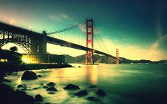 Free Golden Gate Bridge phone wallpaper by jasmynmay