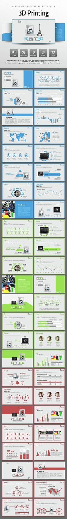 3D Printing (PowerPoint Templates)
