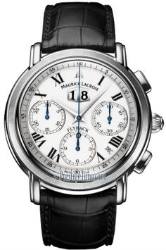 mp6098-ss001-19e Maurice Lacroix Masterpiece Flyback Annuaire Mens Watch