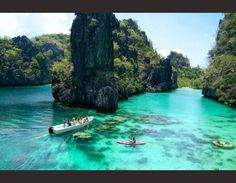 Palawan. Voted worlds best island by travel  + leisure 2013. Philippines. Must!!