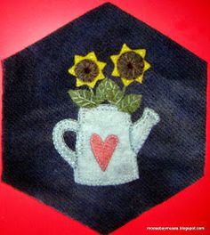 Stitch Society hexagon