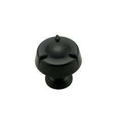 This black finish cabinet knob with circle and three lines design is part of the Fullerton Series Cabinet Hardware Collection from RK International and features a perfect blend of craftmanship in traditional and contemporary design to complement any decor.