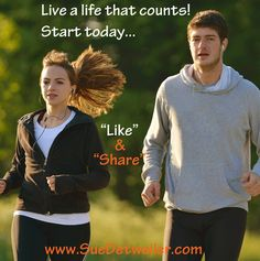 Live your life like it counts! Start today! Read the blog 5 Ways to Live an Epic Life Now -- then leave a comment and join the conversation...