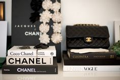 Chanel and Vogue coffee table books Fashion Coffee Table Books, Fashion Books, Fashion Magazines, Scent Of Obsession, Girly Car, Cool Style, My Style, Daily Style, Cleopatra