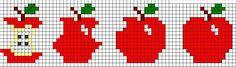 Esquemas da Ricas Prendas free cross stitch chart quick to stitch and so cute Cross Stitch Fruit, Cross Stitch Kitchen, Cross Stitch Boards, Simple Cross Stitch, Free Cross Stitch Charts, Cross Stitch Bookmarks, Cross Stitch Designs, Cross Stitch Patterns, Cross Stitching