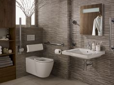 wheelchair accessible washroom design - Google Search
