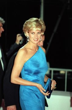 Princess Diana on an official visit in Sydney in 1996.
