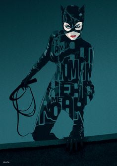 Catwoman Movie Poster  'Hear Me Roar' LIMITED by 17thandOak