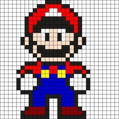 MINECRAFT PIXEL ART – One of the most convenient methods to obtain your imaginative juices flowing in Minecraft is pixel art. Pixel art makes use of various blocks in Minecraft to develop pic… Pearler Bead Patterns, Kandi Patterns, Perler Patterns, Beading Patterns, Embroidery Patterns, Cross Stitch Patterns, Loom Beading, Perler Bead Mario, Perler Beads