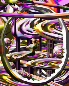 """Graphic Of Art World Saatchi Online Artist Boi K' Boi; Digital, """"Graphic Of Art World"""" #art"""