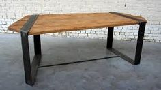 """Résultat de recherche d'images pour """"table metallique"""""""