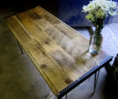 Reclaimed wood. Yes.