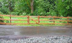 4 foot split rail fence