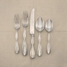 Overture Stainless Steel Flatware Made by Lunt