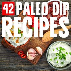 This paleo dips are so good! Next time you need to get your snack on, make one of these delicious paleo dips. Great with vegetables and homemade chips.