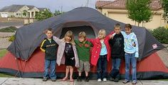 """This grandma does two """"Grandma Camps"""" a year for her 10 grandchildren! Tons of ideas."""