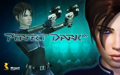 Perfect Dark (XBLA) wallpaper Xbox Games, Arcade Games, Sea Of Thieves, Perfect Dark, First Person Shooter, Xbox Live, Single Player, Video Game Console, Game Character