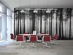 Grovewood - First Snow - Level Digital Wallcoverings