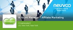 Looking for a #Account #Manager - Affiliate Marketing #jobs
