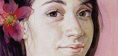 Painting by Olya Segal https://flic.kr/p/G1cYDa   juliet close-up