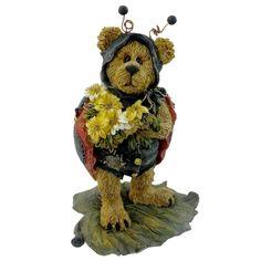 Boyds Bears Resin Tweedle Bedeedle Stop Figurine