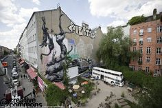 So great seeing this ROA piece in-person yesterday in Kreuzberg!