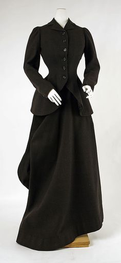 Riding Habit, Made by T. Miller & Sons, New York (American): 1900's, American, wool.