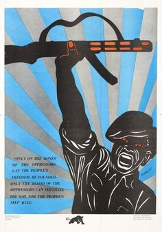 Black Panther Party poster, 1969 Design and illustration: Emory Douglas Emory Douglas was the Revolutionary Artist and Minister of Culture for the Black Panther Party. He art directed the Black...