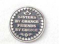 Sister Gift Love Token Coin - Best sister Coin Gift - Gifts for sister - Family Gifts Pocket Token - Birthday gift - Sentimental Gifts