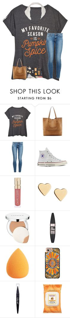 """Losing you would be the worst thing to happen to me."" by southern-belle606 ❤ liked on Polyvore featuring LC Trendz, Sole Society, Paige Denim, Converse, Smith & Cult, Lipsy, Clinique, Maybelline, Casetify and Burt's Bees"