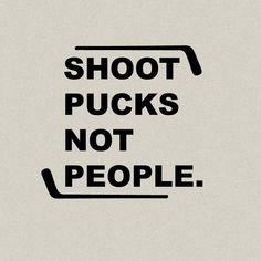 Shoot Pucks Not People Shirt - Customize Your Colors! Hockey Shirt | Hockey Tee | Hockey Tees | Hockey T-Shirts | Hockey | Shirt | Hockey by CustomWolfpack