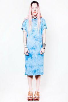 Blue Crush Tie Dye Maxi - OSFA