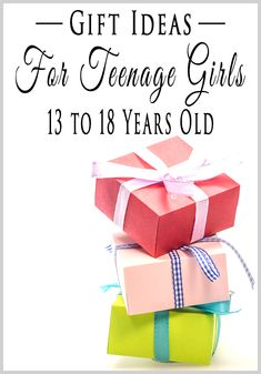 Best Gifts for 13 Year Old Girls | Gift, Girls and Birthdays