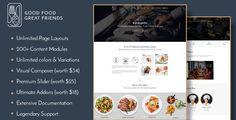 Ratatouille - Restaurant WordPress Theme